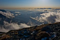 Translucent mountains under clouds (Yoshia-Y) Tags: clouds tateyama mtjodo