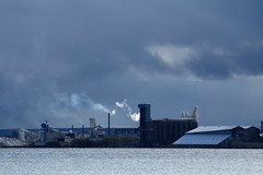 rainy day (capnadequate) Tags: blue minnesota landscape industrial gray duluth lakesuperior