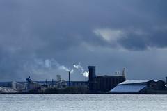 rainy day (capnadequate) Tags: blue minnesota landscape industrial gray duluth lakesuperior