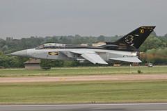 RAF Tornado F3 ZE887/XI (N48284) Tags: 2005 aviation airshow tornado raf royalinternationalairtattoo panavia royalairforce raffairford airtattoo tornadof3 andrewmorley 11fsqn
