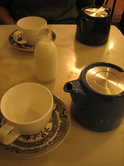 stylish tea (Ladybadtiming) Tags: china london shop table liberty milk afternoon tea tudor cups teapots bliss luxury stylish