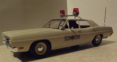 1-24 1970 Illinois State Police ford  Complete update (1) (Badge764_diecast) Tags: trooper police sheriff isp statetrooper highwaypatrol illinoisstatepolice customdecals badge764 policecarreplica 124scalepolice 1970fordisp 70fordgalaxy