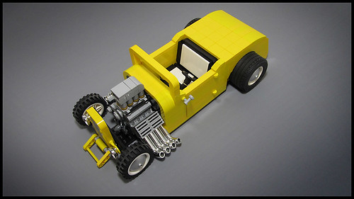 Custom Lego Hot Rod