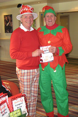 004 - Andrew Corfield 2012 RedHedz Xmas Trophy Best Dressed Winner (Neville Wootton Photography) Tags: golf humour winners stmelliongolfclub mensgolfsection 2012golfseason bestdressed andrewcorfield redhedzrollupxmastrophy