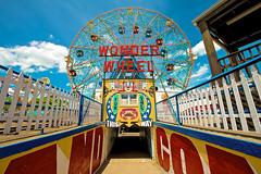 Wonder Wheel (bwilliamp) Tags: nyc newyorkcity usa ny newyork brooklyn coneyisland bigapple wonderwheel