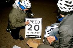 DSC_1075 (rightofwaynyc) Tags: nyc row pedestrians speedlimit rightofway bikenyc 20isplenty