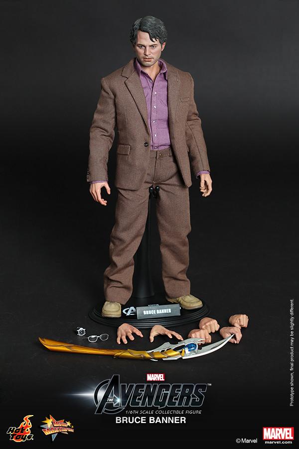 Hot Toys - MMS229 復仇者聯盟:布魯斯‧班納博士