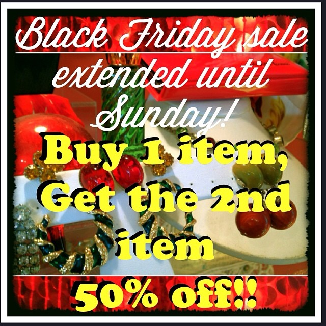 Sale extended till Sunday! Plus today is Small Business Saturday! Buy 1 Get 1 Half Off plus an additional $10 back if you use your AmEx card! Shop Small! AND the festival in town! Sayville is where its at today! #sale #blackfriday #blackfridaysale #holid