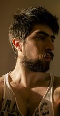 sunlight after rain (cristianfranco) Tags: gay light boy hairy sun sunlight man men rain beard cine lgbt director cristian franco screenwriter tuñon 4ambientes cristianfranco noserasluna