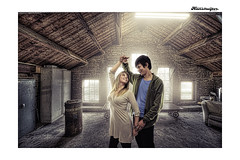 Dave & Marjolein (Hans Ruijter | RAILSCAN) Tags: backgrounds hilversum werf35 compositeportraits