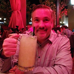 Starting the night with a small margarita #notdriving