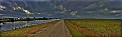 Everglades Levee near CS (26degreesN) Tags: coral springs everglades levee