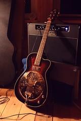 2014_0113Strummer0006 (maineman152 (Lou)) Tags: lake pond guitar maine january lp strings custom tuning soundcheck stratocaster electricguitar telecaster resonatorguitar westpond