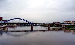 Stadtbrücke von Frankfurt Oder nach Slubice (Polen) (gerhard_hohm) Tags: frankfurtoder stadtbrücke oderneiseradweg gerhardhohm