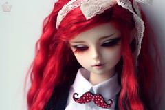 IMG_0113 (Zoltan16) Tags: red doll vampire ears elf sd wig bjd mustache dod delphine