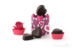 Happy Valentine's Day! (ronatka) Tags: origami box rose kawasaki heart flowersorigami