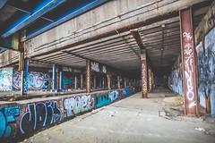 Abandoned Subway 2 (Denn-Ice) Tags: new york city nyc ny abandoned canon decay bronx urbandecay urbanexploration urbex canon5dmk3 canon5dmarkiii 5dmk3 vision:outdoor=0856 vision:sky=0599