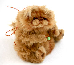 persiancat6 (Yanina Link) Tags: cat toy persian doll teddy ooak kater redcat tomcat realistic softsculpture ooakteddybear