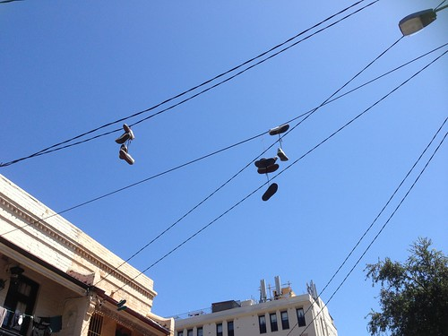 sky shoe line
