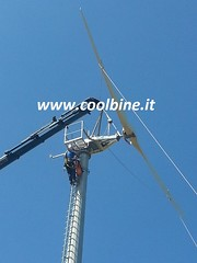 11 Gaia Wind 133 10kW turbine mini eolico Coolbine