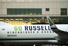 DSC_1570 (jbantz024) Tags: seattle alaska russell go pdx seahawks airlines as gorussell n453as
