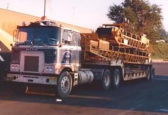 "Four headlight ""F"" (PAcarhauler) Tags: tractor truck semi mack coe f700 fmodel"