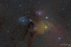 Rho Ophiuchi cloud complex (TheAstroShake) Tags: canon star space telescope nebula astrophotography rho antares