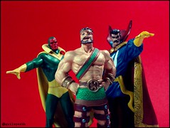 Vision, Hercules and Dr. Strange - Marvel Heroes (Gui Lopes BH) Tags: classic strange comics toys miniatures action dr statues collection vision heroes figurine marvel universe figures hercules avengers viso estranho miniaturas eaglemoss guilopesbh