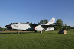 Skywarrior at Fulton County Airport (patchais) Tags: douglas flynavy gateguard a3skywarrior xa3d1