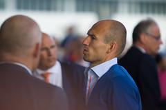 Arjen Robben (Marco van Zelst) Tags: people orange holland europa europe events nederland thenetherlands nh company event wk nl schiphol noordholland mensen knvb arjenrobben evenement bedrijf evenementen