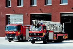 Een nieuwe stek voor de brandweer van Duffel. -01 (Ervanofoto) Tags: fire nikon belgium belgique belgië coolpix feuerwehr brandweer firebrigade belgien duffel pompiers ervanofoto coolpixp7700