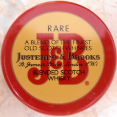 Circled J&B (sq#0248) (Navi-Gator) Tags: red circle words letters whiskey squaredcircle sqare
