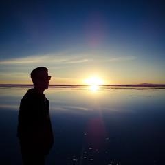 Seeing the sun set