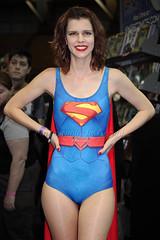 Lanky Superwoman (l plater) Tags: cosplay dccomics sydneyolympicpark superwoman lplater canon5dmkii supanovapopcultureexpo canonef70300mmf456lisusm photoshopcs6