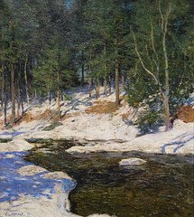 DTK_9540r Icebound, Willard LeRoy Metcalf, 1909 (crobart) Tags: chicago art institute metcalf leroy willard 1909 icebound