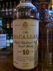 Macallan 10yo 40% (eitaneko photos) Tags: november tokyo bottle single whisky 40 cl macallan malt 2014 10yo