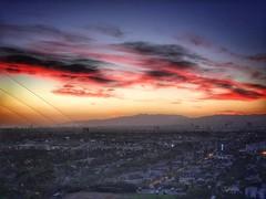 LA sunset (shinnygogo) Tags: iphone7 iphone baldwinhills twilight sunset losangeles hdr endofday landscape iphone7plus iphonephotography