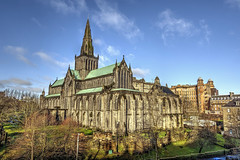 St Mungo's Cathedral, Glasgow. (MarkWoods2) Tags: stmungoscathedral cathedrals glasgow scotland