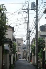 tokyo5966 (tanayan) Tags: urban town cityscape tokyo jyujyo japan nikon j1    road street alley