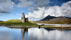 Ardvreck castle (andrewmckie) Tags: ardvreckcastle ardvreck lochassynt assynt sutherland scotland scottishscenery scottishcastles scottish scenery landscape sky clouds reflections outdoor