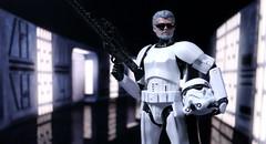 Director on site (kevchan1103) Tags: george lucas stormtrooper star wars black series