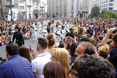 Star Wars en Bilbao (David Herranz) Tags: starwars bilbao stormtrooper trooper gran va friki