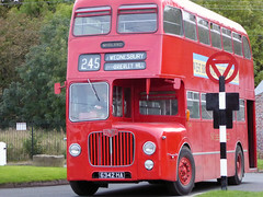 Midland Red Bus (avesinc54) Tags: black country museum canal trust dudley peaky blinders bus trolly double dekker caverns barges canals towns