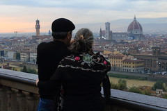 Love in Florence. (Federica Zampaolo) Tags: love amore firenze florence panorama piazzale michelangelo