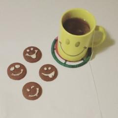 Happy Faces (PhoebeZu) Tags: happyface cookie biscuit smile fairtrade teaaddict tazza tealover commercioequo equosolidale teaporn hottea teatime cup teacup teaoftheday mydailycupoftea tea teastagram mug t tealife instatea drink tcaldo