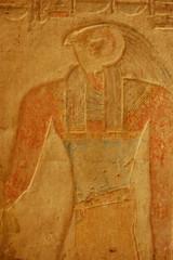 Beit El Wali - Horus (gilmorem76) Tags: egypt temple horus art carving ancient travel tourism aswan