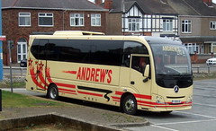 Andrews of Tideswell (Hesterjenna Photography) Tags: andrews tideswell fj15ejc mercedes benz atego 1218l plaxton cheetah xl excursion psv bus coach transport travel tour tourist