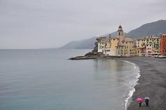 DSC_5839 (giuseppe.cat75) Tags: camogli italy liguria sea landscape rain mountains