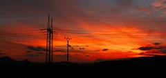 On the way home (Danijelka) Tags: sundown dusk clouds sky colours beauty nature journey