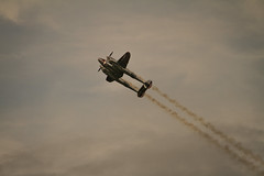 "Lockheed P-38 ""Lightning"", N25Y (krustyhimself) Tags: scalaria wolfgangsee salzkammergut austria 2014 airshow airchallenge theflyingbulls redbull lockheedp38lightning n25y"
